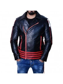 Freddie Mercury Black and Red Jacket