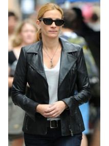Julia Robert Black Leather Jacket