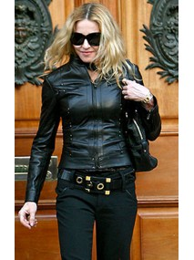 Madonna Black Leather Jacket