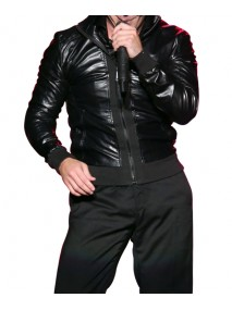 Pitbull Black Leather Jacket