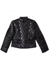 Nicki Minaj Black Quilted Jacket
