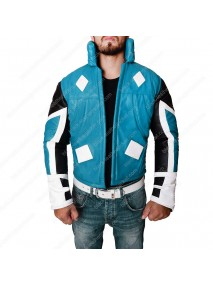 Adam Brashear Blue Marvel Leather Jacket