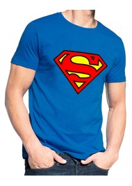 Royal Blue Superman T-Shirt