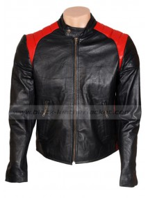 Bobby Prinze Scary Movie Black Leather Jacket