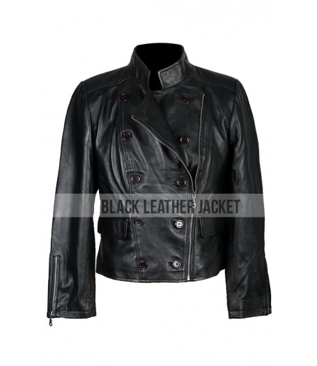 Breaking Dawn Kristen Stewart Black Leather Jacket