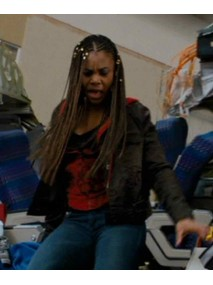 Brenda Meeks Scary Movie 4 Black Leather Jacket