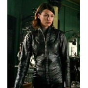 Bridget Moynahan I Robot Leather Jacket