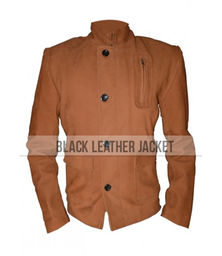 Brown Arrow Stephen Amell Oliver Queen Leather Jacket