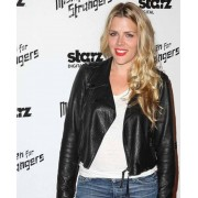 Busy Philipps Black Leather Jacket