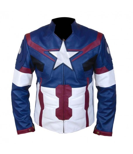 Captain America Avengers Age of Ultron Jacket