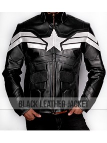 Captain America The Winter Soldier Black Jacket