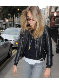 Paper Towns Film Cara Delevingne Leather Jacket