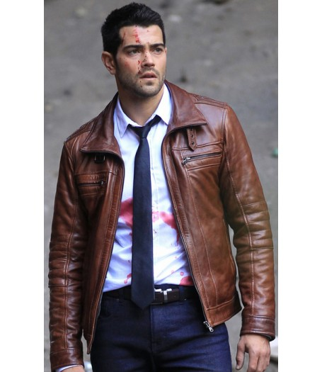 Jesse Metcalfe Dead Rising Watchtower Leather Jacket