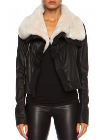 Jennifer Lopez Classic Biker Black Leather Jacket