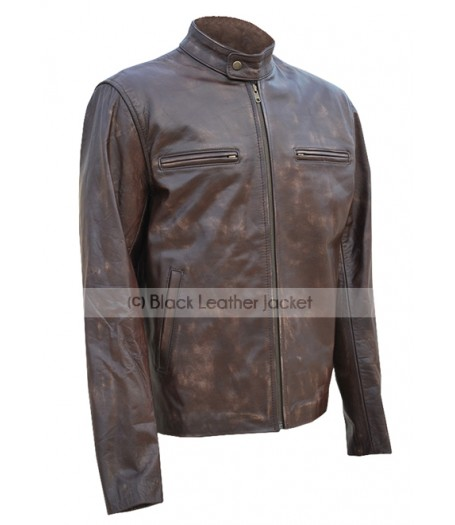 Contraband Mark Wahlberg Leather Jacket