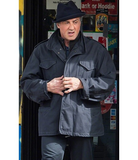 Sylvester Stallone Creed Movie Rocky Balboa Jacket