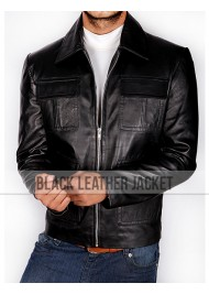 Damon Salvatore Leather Jacket Season 4