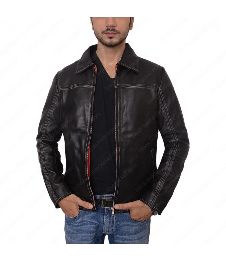 Daniel Craig Layer Cake Leather Jacket