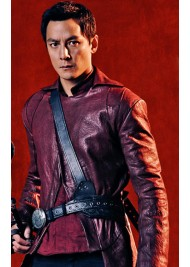 Daniel Wu Into The Badlands Sunny Leather Jacket