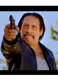 Danny Trejo Frank Bullet Leather Jacket