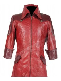 Dante Devil May Cry Leather Trench Coat