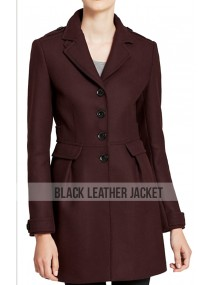 Deborah Ann Daredevil Karen Page Wool Blend Coat