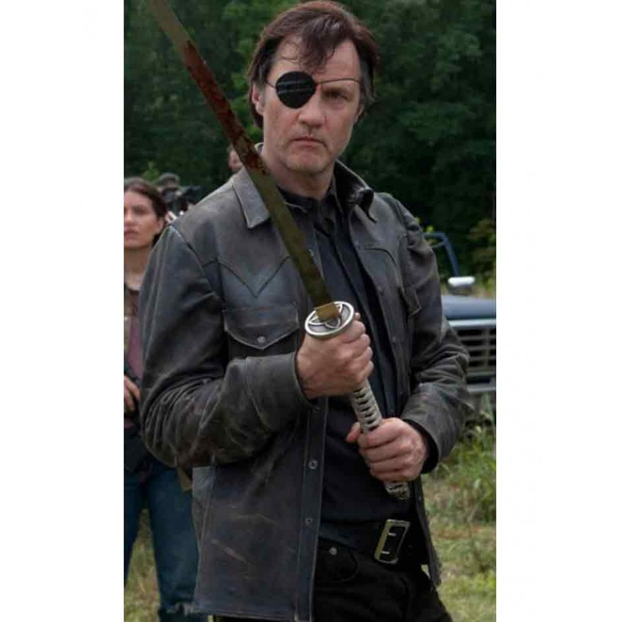 cf66b6d7c David Morrissey The Walking Dead Governor Leather Jacket