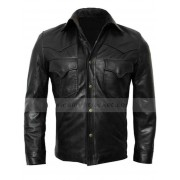 David Morrissey The Walking Dead Governor Leather Jacket