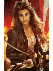 Dead Rising Watchtower Meghan Ory Leather Jacket