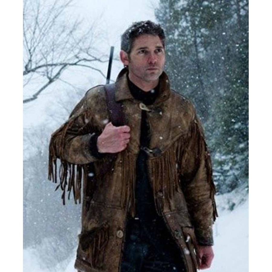 Distressed Brown Leather Jacket | Eric Bana Jacket