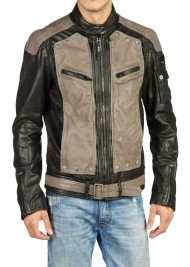 Designer New Style Removable Front Leather Jacket