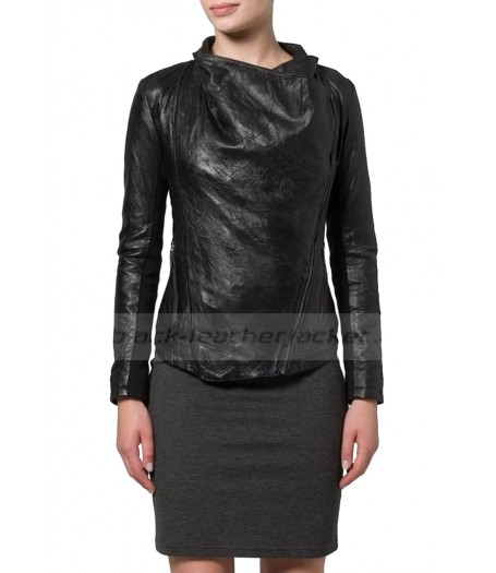 New Stylish Designer Womens Black Jacket