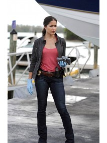 Jaina Lee Ortiz Rosewood Leather Jacket