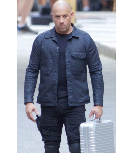 Fast and Furious 8 Dominic Toretto Leather Jacket