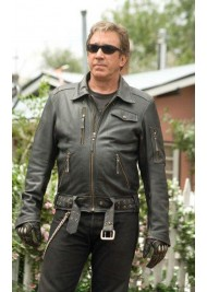 Doug Madsen Wild Hogs Tim Allen Leather Jacket