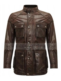 Easy Virtue Jessica Biel Larita Leather Jacket