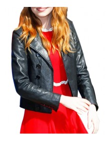 Emma Stone Leather Jacket