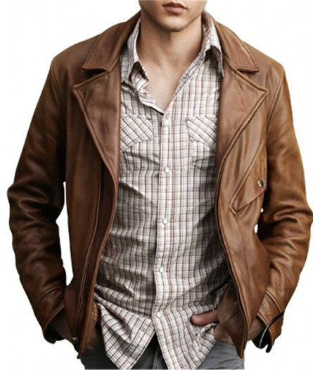 Alden Ehrenreich Beautiful Creatures Ethan Wate Leather Jacket