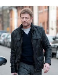 Ewan Cleanskin Sean Bean Leather Jacket