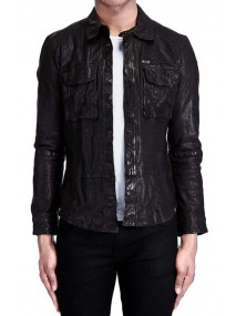 John Pope Falling Skies Leather Jacket