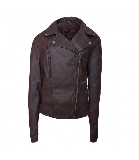 Letty Ortiz Fast and Furious 8 Brown Jacket