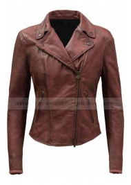 Fast and Furious 8 Megan Ramsey Leather Jacket