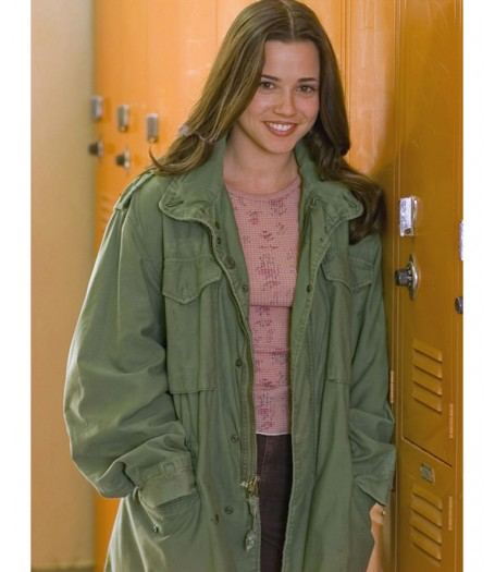 Linda Cardellini Freaks and Geeks Lindsay Weir Army Green Jacket