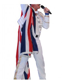 Dean Richardson as Freddie Mercury White Jacket