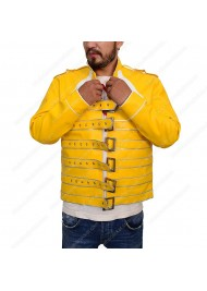 Queen Rock Band Freddie Mercury Yellow Jacket for sale