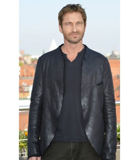 Gerard Butler Olympus Has Fallen Leather Jacket