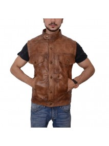 Grant Bowler Defiance Leather Vest