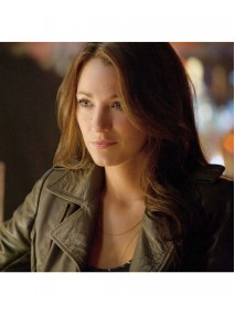 Green Lantern Blake Lively Leather Jacket