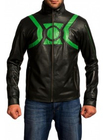 Ryan Reynolds Film Green Lantern Leather Jacket