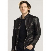 Griffin Leather Jumper Jacket